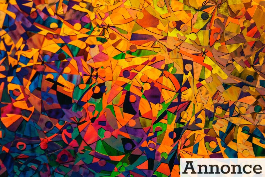 Kunstværk i mange farver